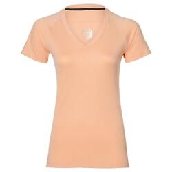 Asics - Asics 154543 V-Neck Ss Kadın T-Shirt (Thumbnail - )