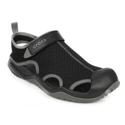 Crocs - Crocs 205289 M Swiftwater Mesh Deck Sandal M Erkek Terlik (Thumbnail - )