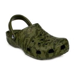 Crocs - Crocs 206454 M Classic Printed Camo Clog Erkek Terlik (Thumbnail - )