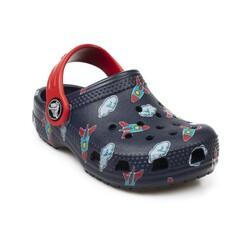 Crocs - Crocs 207321 K Classictoddlerprintedcgk Çocuk Terlik (Thumbnail - )