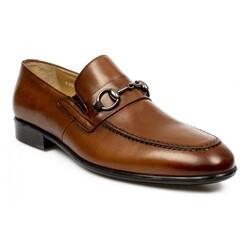 Fosco - Fosco 1093M Hakiki Deri Klasik Tokali Erkek Ayakkabı (Thumbnail - )