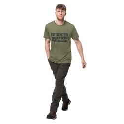 Jack Wolfskin - Jack Wolfskın 1807441 Brand T M Erkek T-Shirt (Thumbnail - )