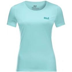 Jack Wolfskin - Jack Wolfskın 1807121 Brand T M Kadın T-Shirt (Thumbnail - )