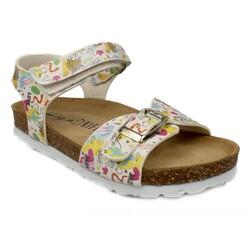 Kifidis - Kifidis Sk05 Ortopedik Mantar Taban Kız Çocuk Sandalet (Thumbnail - )