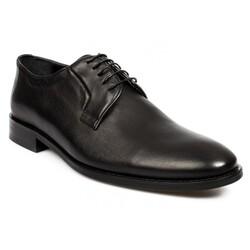 Marcomen - Marcomen 11243 Hakiki Deri Klasik Bağlı Erkek Ayakkabı (Thumbnail - )