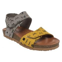 Piarmoni - Piarmoni Msm Trend Sandals 2123 Cırtlı Kız Çocuk Sandalet (Thumbnail - )