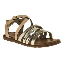 MSM Trend Sandals - Msm Trend Sandals 2152 Tek Cırt Kız Çocuk Sandalet (Thumbnail - )