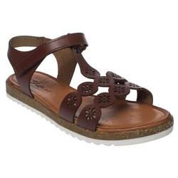 MSM Trend Sandals - Msm Trend Sandals 2195 Tek Cırtlı Kız Çocuk Sandalet (Thumbnail - )
