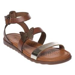 MSM Trend Sandals - Msm Trend Sandals 2264 Kelebekli Kız Çocuk Sandalet (Thumbnail - )