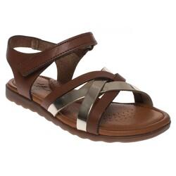 MSM Trend Sandals - Msm Trend Sandals 2272 Tek Cırtlı Kız Çocuk Sandalet (Thumbnail - )