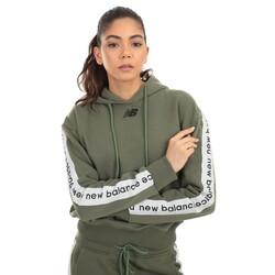 New Balance - New Balance Wpj005 Nb Team Hoodie Kadın Sweatshirt (Thumbnail - )