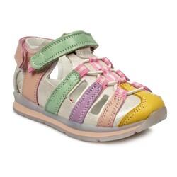 Perlina - Perlina 216 B Ortopedik Renkli Çocuk Sandalet (Thumbnail - )
