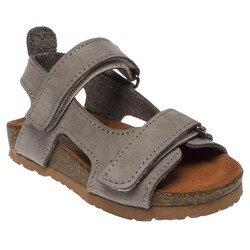 Piarmoni - Piarmoni Msm Trend Sandals 2096 B Deri Çocuk Sandalet (Thumbnail - )