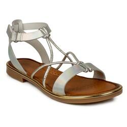 Piarmoni - Piarmoni Msm Trend Sandals 2304 Cırtlı Kız Çocuk Sandalet (Thumbnail - )