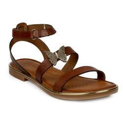 Piarmoni - Piarmoni Msm Trend Sandals 2314 P Cırtlı Çocuk Sandalet (Thumbnail - )
