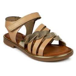 Piarmoni - Piarmoni Msm Trend Sandals 2318 P Cırtlı Çocuk Sandalet (Thumbnail - )