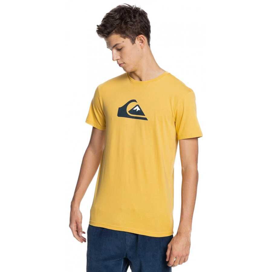 Quiksilver Eqyzt06314 Comp Logo Ss Erkek T-Shirt