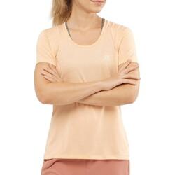 Salomon - Salomon Lc1280200 Agile Ss Tee W Kadın T-Shirt (Thumbnail - )