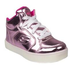 Skechers - Skechers 10857 N Lil Dazzlers Işıklı Çocuk Spor Ayakkabı (Thumbnail - )