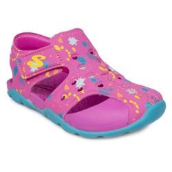 Skechers - Skechers 86428 N Side Wave Lil Painter Çocuk Sandalet (Thumbnail - )