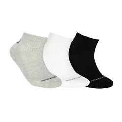 Skechers - Skechers S192136 Skx Padded Mid Socks 3 Pack Unisex Çorap (Thumbnail - )
