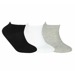 Skechers - Skechers S192139 Nopad Mid Socks 3 Pack Unisex Çorap (Thumbnail - )