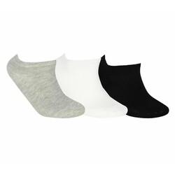 Skechers - Skechers S192140 Nopad Low Socks 3 Pack Unisex Çorap (Thumbnail - )
