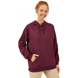 Skechers - Skechers S202030 Lw Fleece Mesh Detailed Hoodie Kadın Sweat (Thumbnail - )