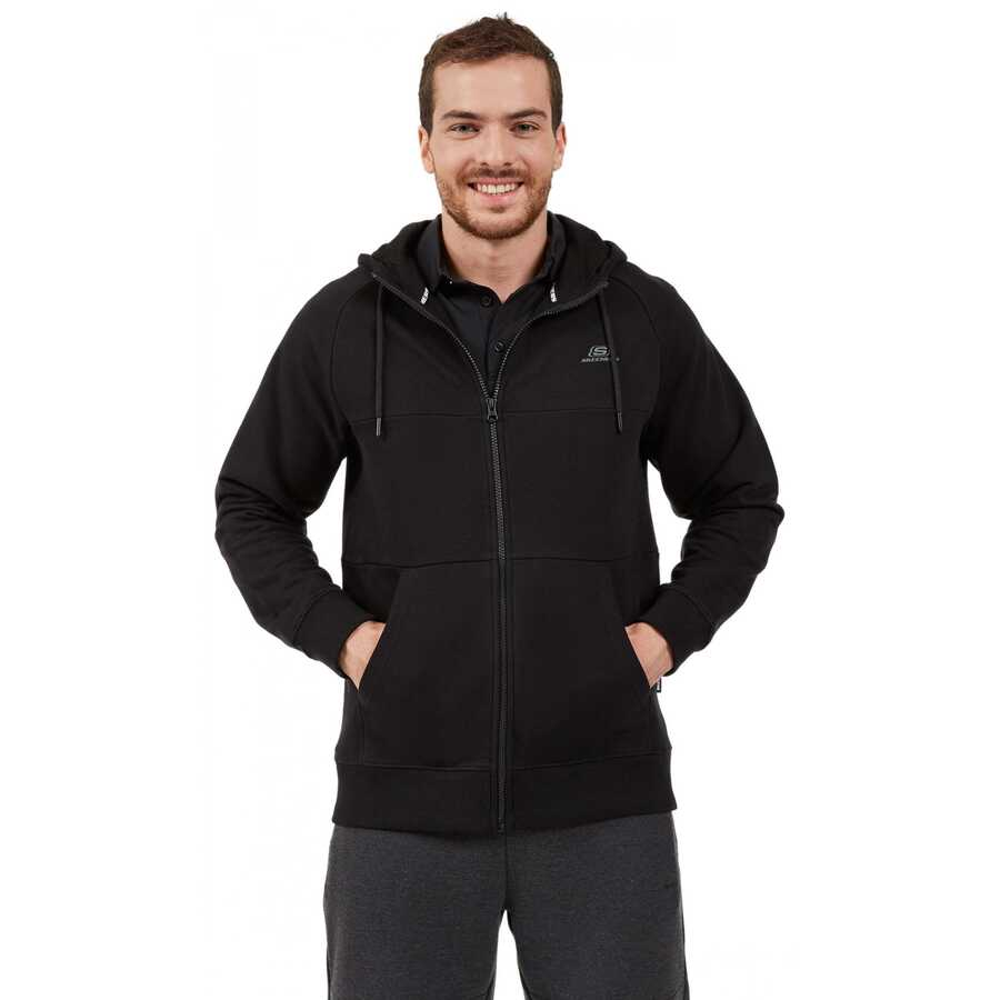 Skechers S202076 Lw Fleece M Pieced Zip Hoodie Erkek Ceket