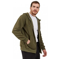 Skechers S202076 Lw Fleece M Pieced Zip Hoodie Erkek Ceket - Thumbnail