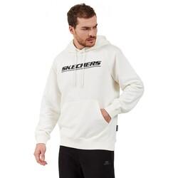 Skechers - Skechers S202078 2Lw Fleece Logo Hoodie Erkek Sweatshirt (Thumbnail - )