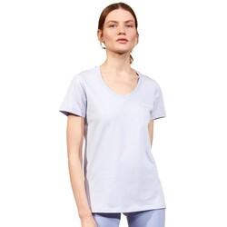 Skechers - Skechers S202215 Graphic Tee W V Neck Kadın T-Shirt (Thumbnail - )