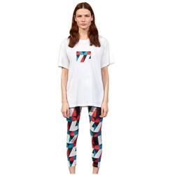 Skechers - Skechers S211160 Graphic Tee W Crew Neck Kadın T-Shirt (Thumbnail - )