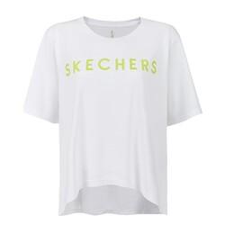 Skechers - Skechers S211161 Graphic Tee W Crew Neck Kadın T-Shirt (Thumbnail - )