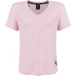 Skechers - Skechers S211313 Graphic Tee W V Neck Kadın T-Shirt (Thumbnail - )