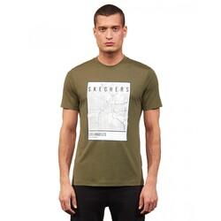 Skechers - Skechers S211514 Graphic Tee M Crew Neck Erkek Kısa Kollu T-Shirt (Thumbnail - )
