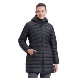 Skechers - Skechers S212005 W Essentil Maxi Lenght Hooded Jac Kadın (Thumbnail - )