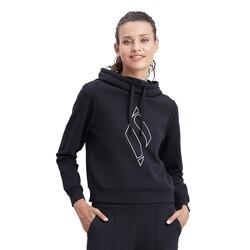 Skechers - Skechers S212053 W Big Logo Hoodie Kadın Sweatshirt (Thumbnail - )