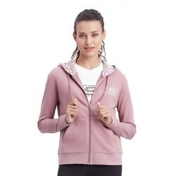 Skechers - Skechers S212405 W Summits Full Zip Hoodie Kadın Sweatshirt (Thumbnail - )
