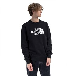The North Face - The North Face Nf0A4Svr M Drew Peak Crew Erkek Outdoor (Thumbnail - )